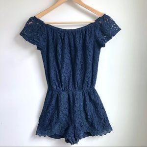 BB Dakota Liam romper in Navy